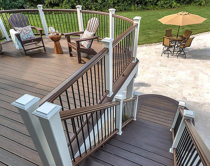 build deck railing